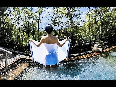 露天から琵琶湖を一望!360VR温泉美人